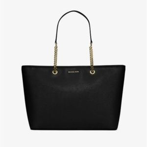 Michael Kors Jet Set Trl MD Saffiano Leather Tote